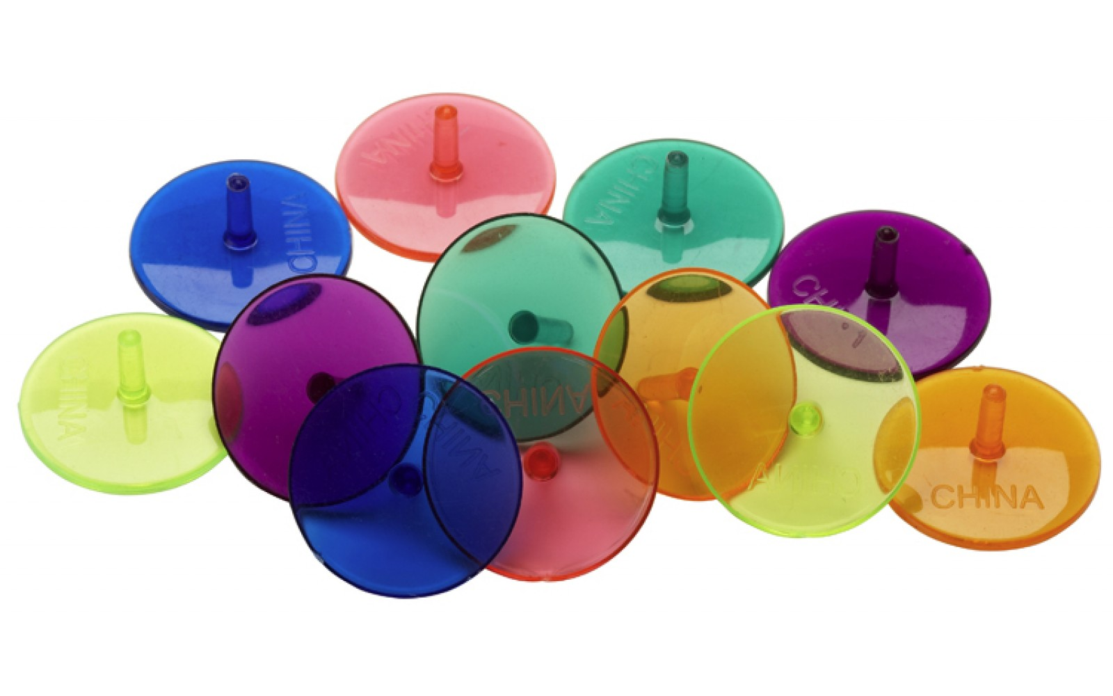 Plastic bal markers