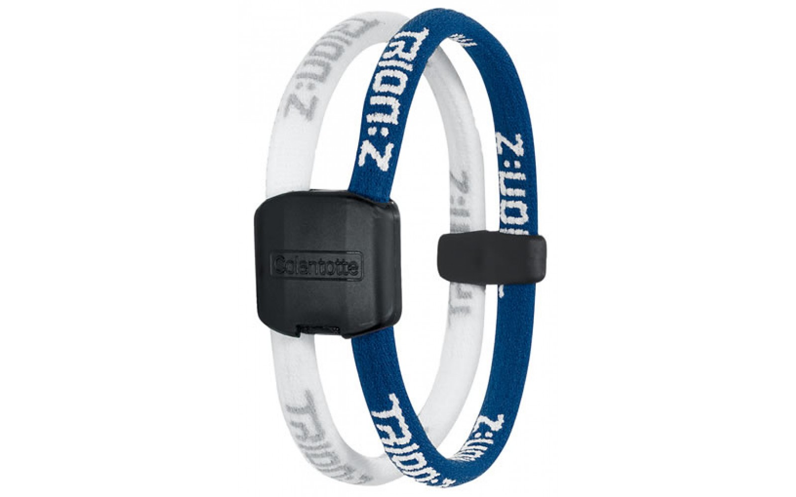 Trion:Z Magneet Armband, Kleur : Blauw/Wit, Maat : Large