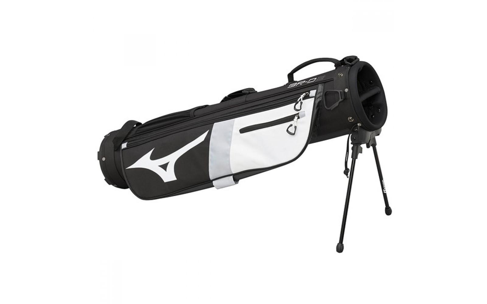 Mitzuno BR-D2 Stand Bag Zwart - Wit