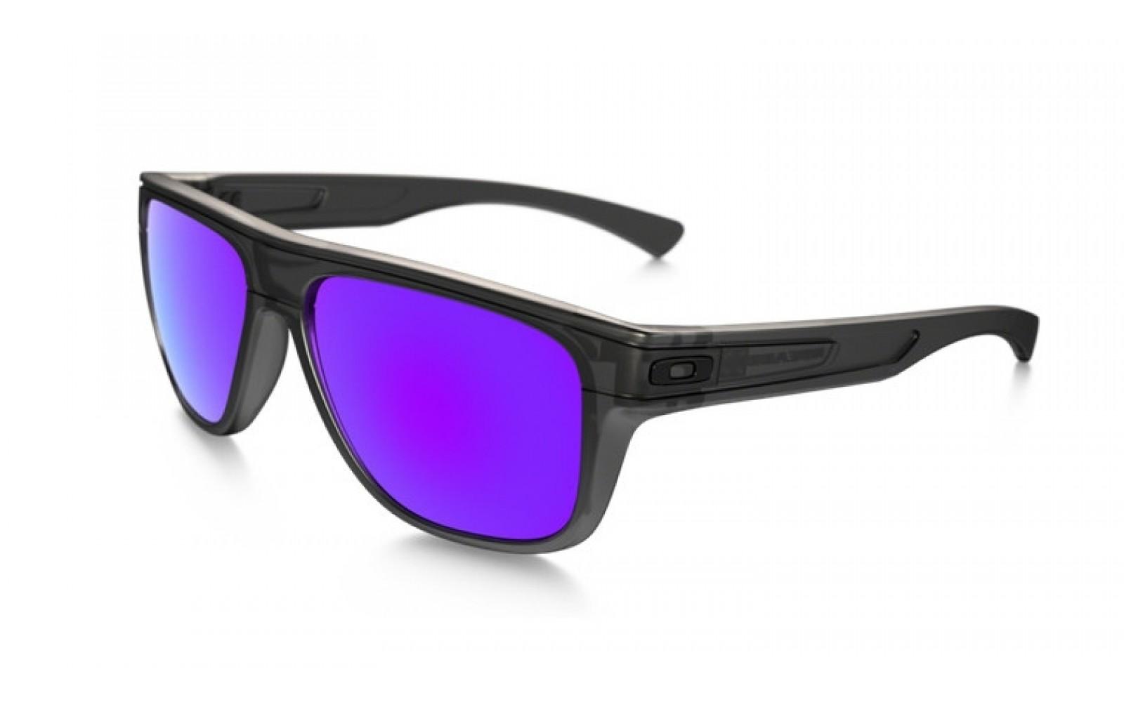 Oakley Breadbox - Matte black Ink / Violet Iridium - OO9199-02 Zonnebril