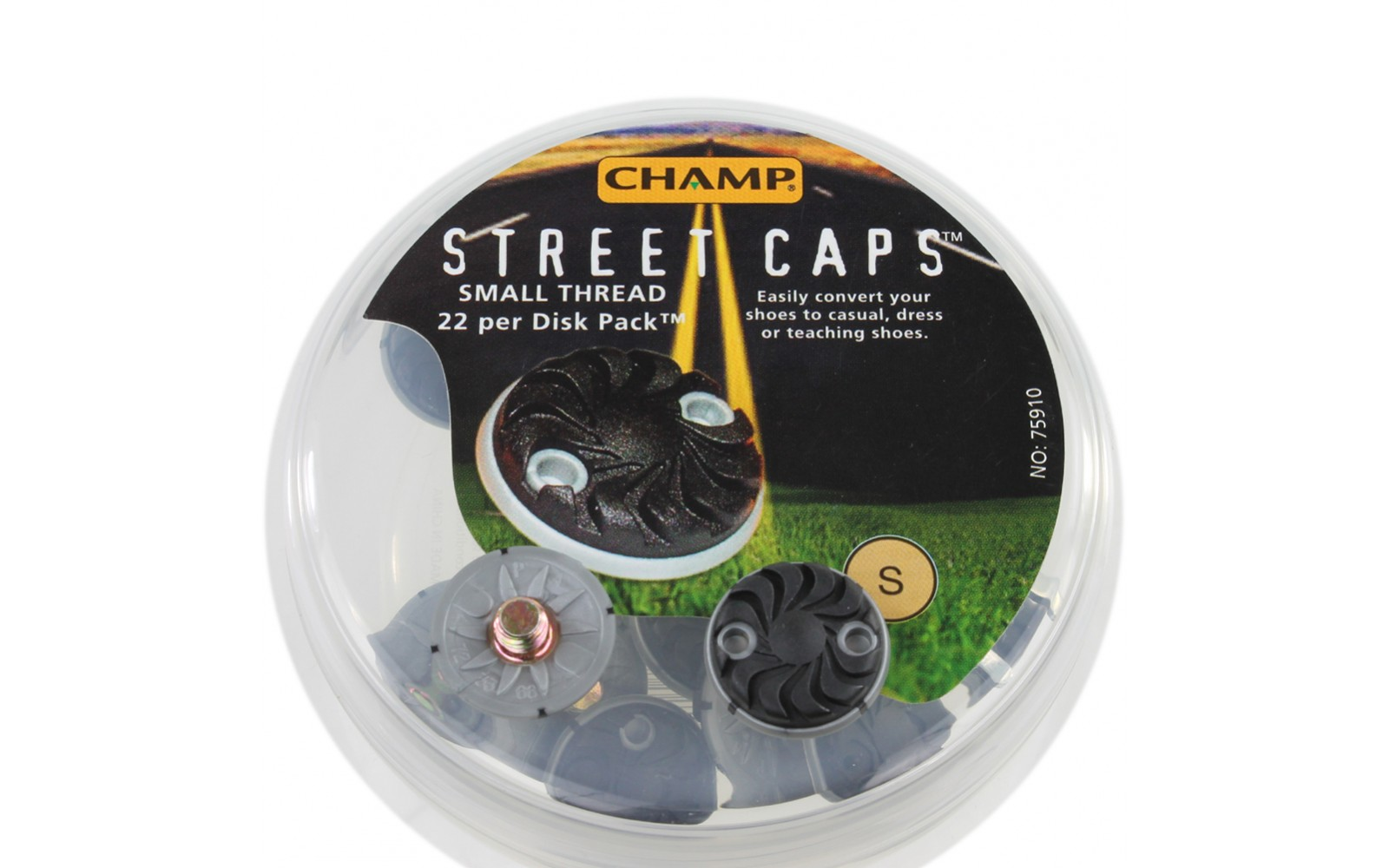 Champ StreetCaps Spikes Disk