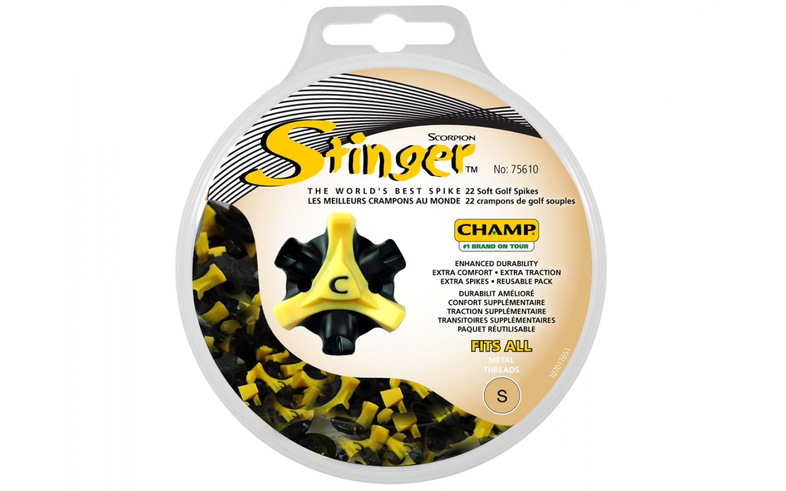 Champ Stinger Spikes disk