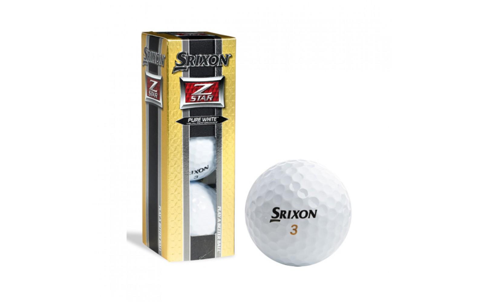 Srixon Z Star Golfballen 3 pack