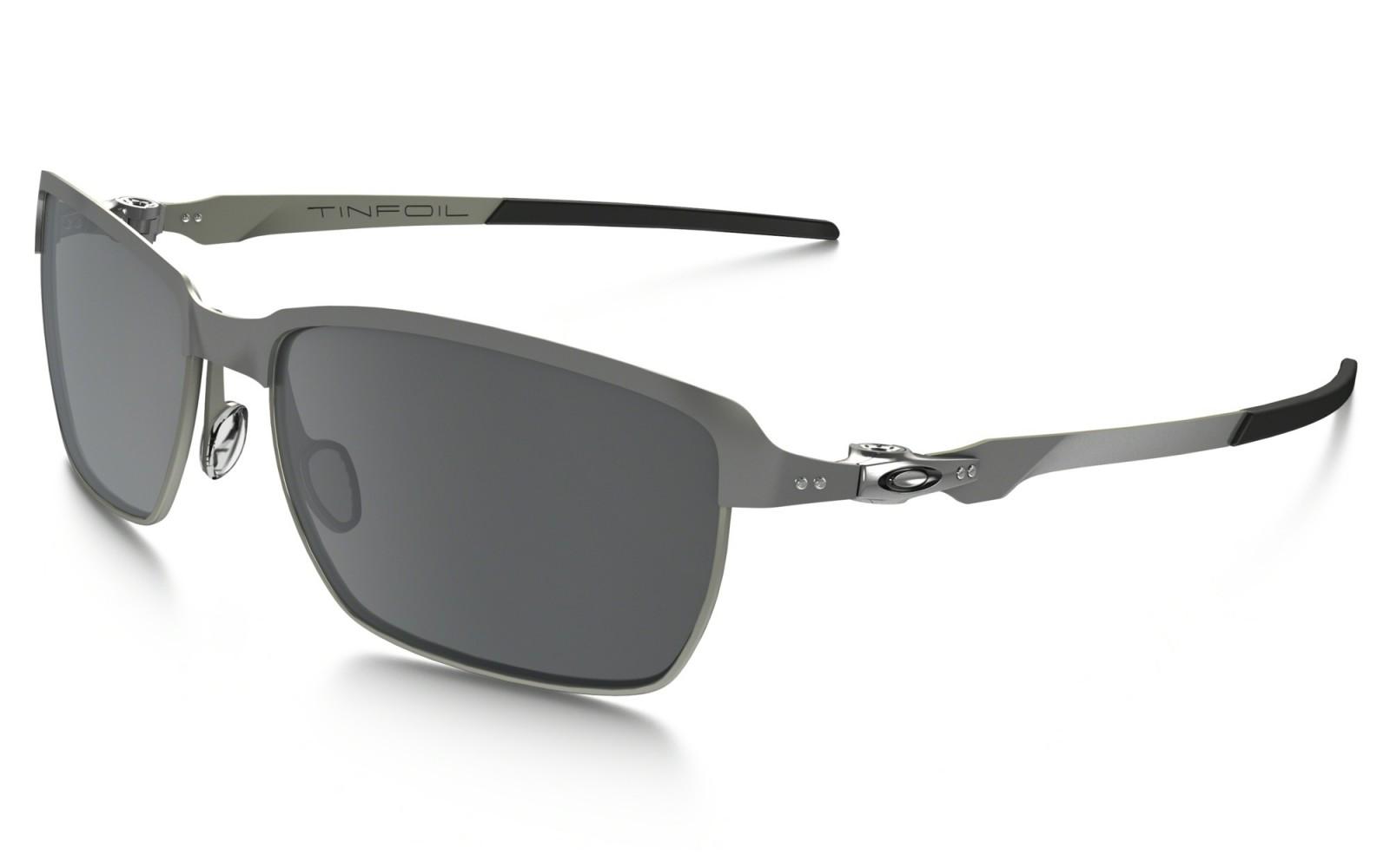 Oakley Tinfoil - Lead / Black Iridium - OO4083-02 Zonnebril
