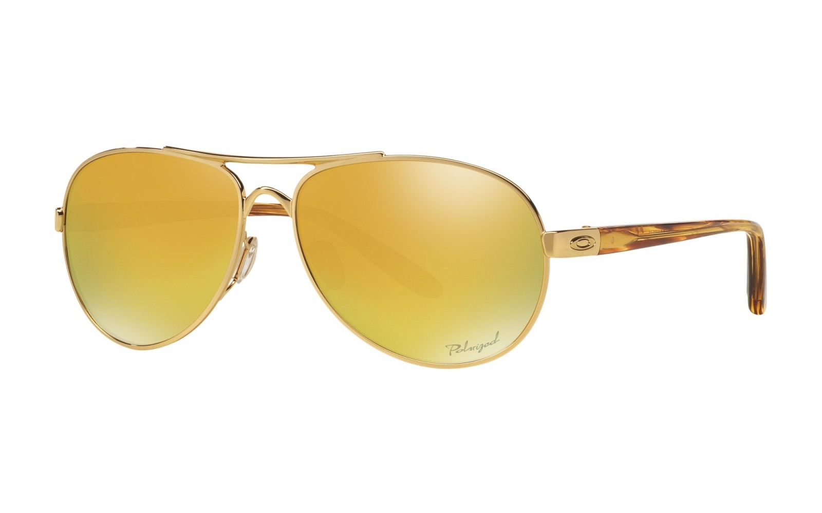 Oakley Tie Breaker Pop Polar Collection - Polished Gold / 24K Iridium Polarized - OO4108-13 Zonnebril