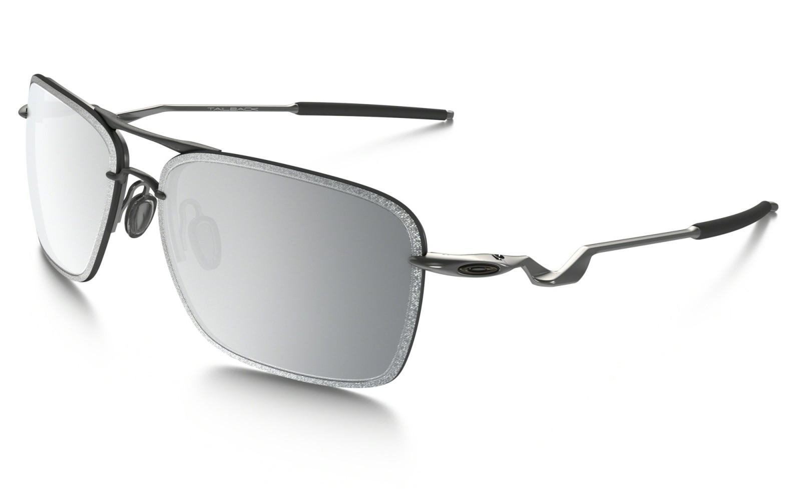 Oakley Tailback - Lead / Chrome Iridium - OO4109-04 Zonnebril