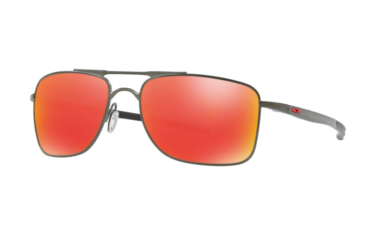 Oakley Gauge 8 M - Matte Carbon / Ruby Iridium - OO4124-0357 Zonnebril