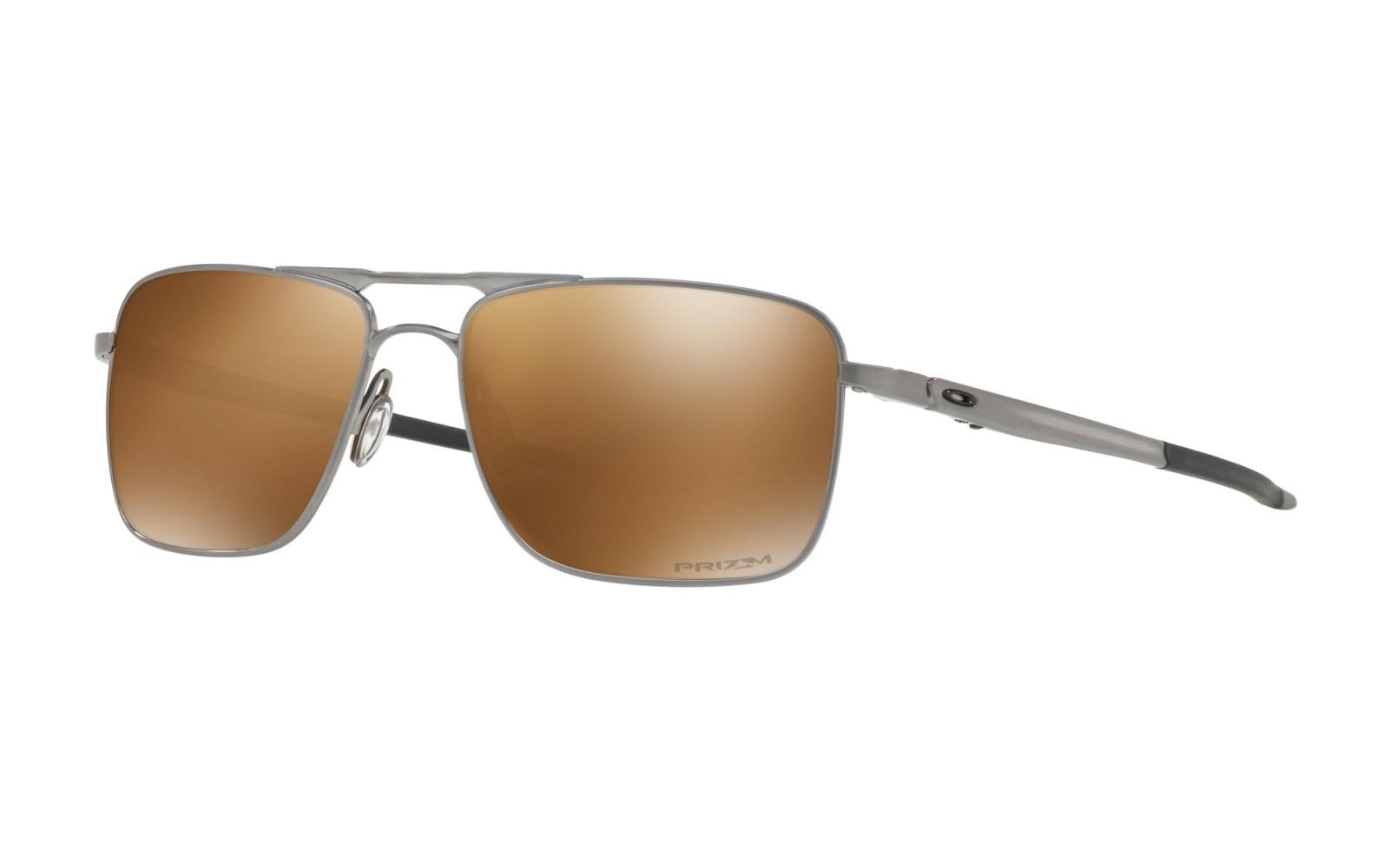 Oakley Gauge 6 - Satin Chrome / Prizm Tungsten Polarized - OO6038-0557 Zonnebril