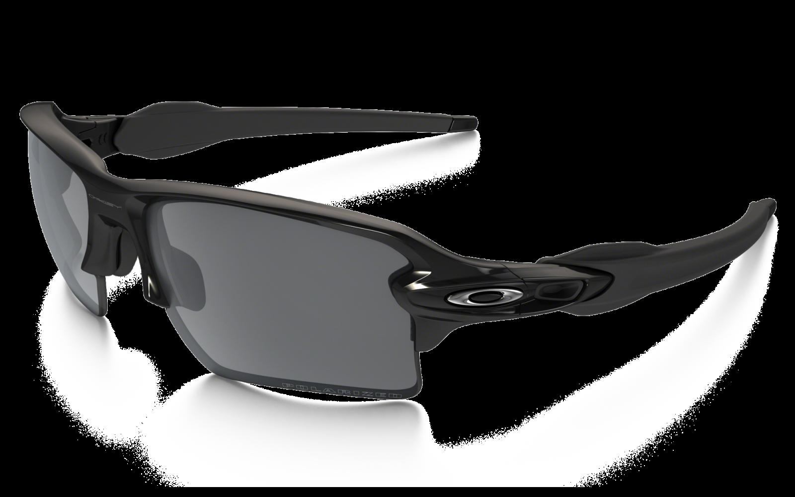 Oakley Flak 2.0 XL Polished Black / Black Iridium Polarized