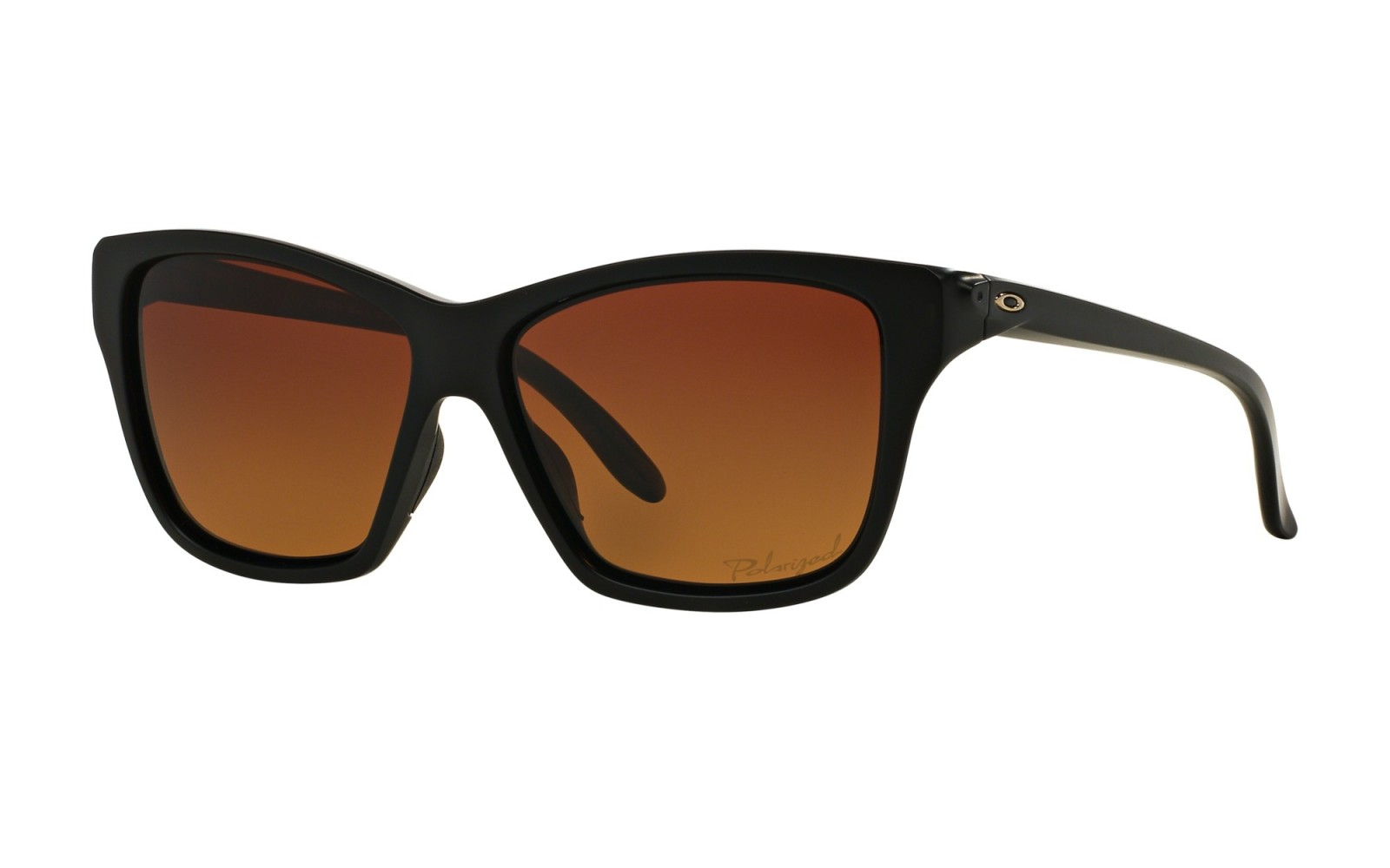 Oakley Hold On - Matte Black / Brown Gradient Polarized - OO9298-01 Zonnebril