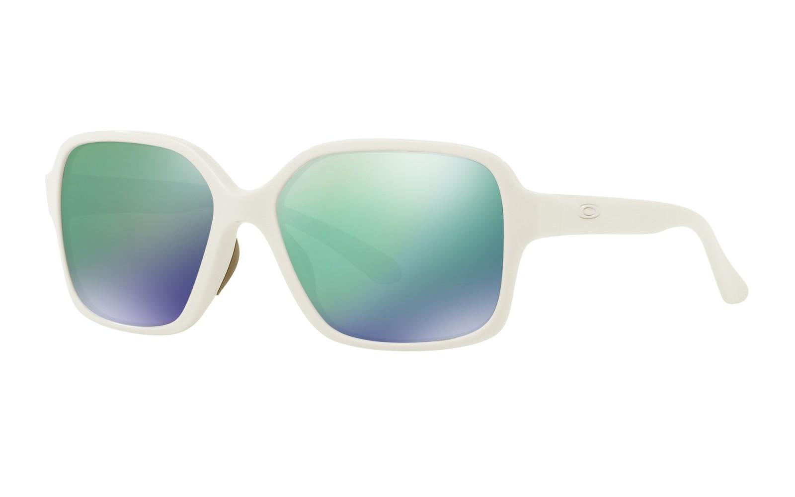 Oakley Proxy - Polished White / Jade Iridium - OO9312-07 Zonnebril