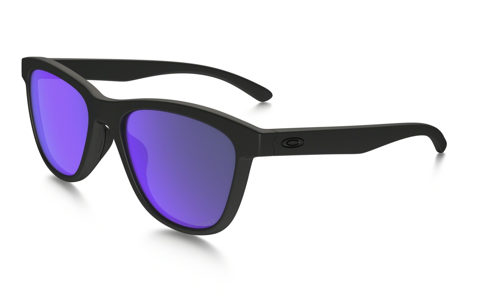 Oakley Moonlighter - Matte Black / Violet Iridium Polarized - OO9320-09 Zonnebril