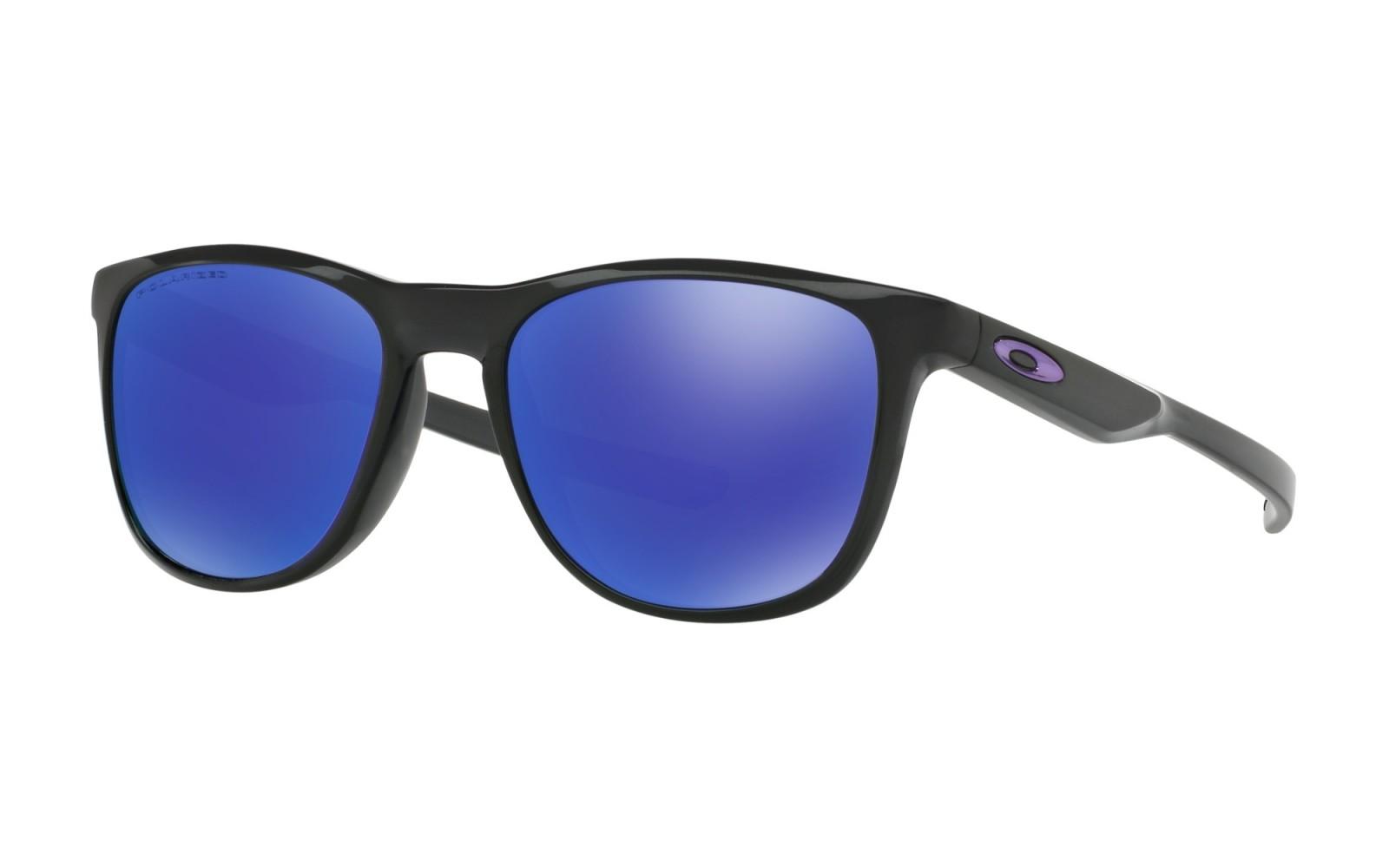 Oakley Trillbe X - Black Ink / Violet Iridium Polarized - OO9340-03 Zonnebril