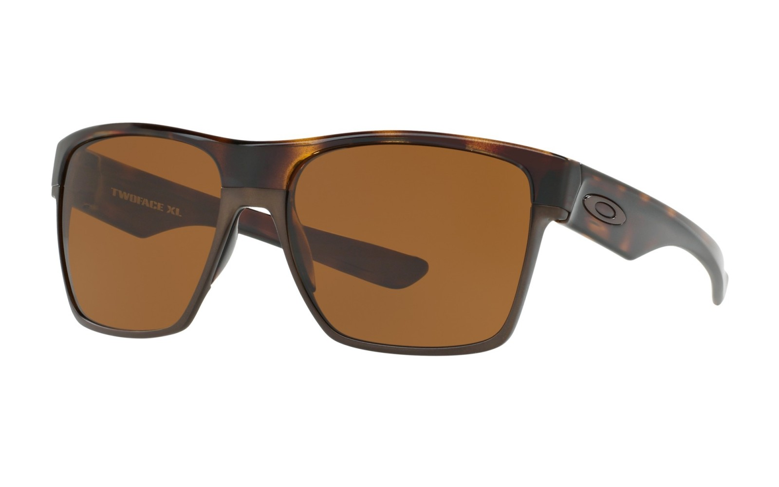 Oakley TwoFace XL - Tortoise / Dark Bronze - OO9350-06 Zonnebril