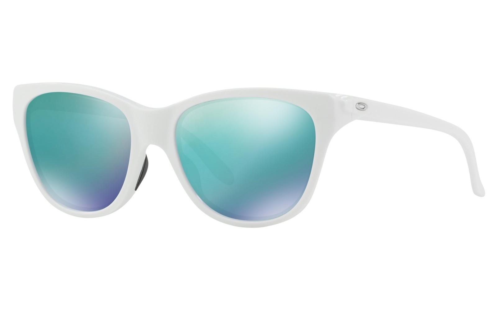 Oakley Hold Out - Polished White / Jade Iridium - OO9357-0455 Zonnebril