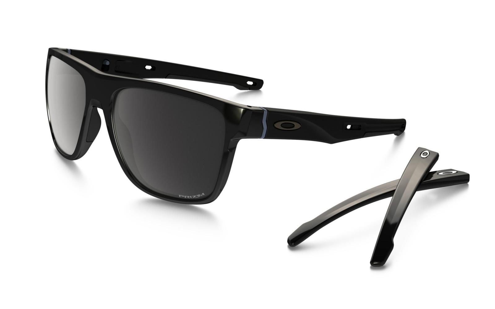 Oakley Crossrange XL - Polished Black / Prizm Black Polarized - OO9360-0758 Zonnebril
