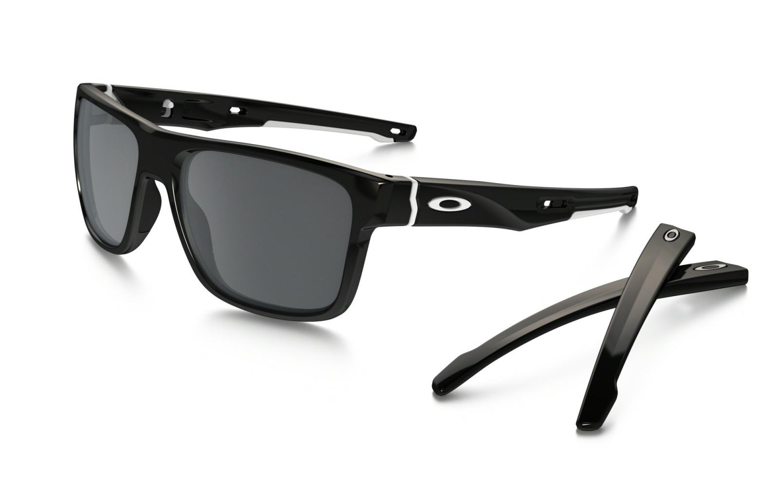 Oakley Crossrange - Polished Black / Black Iridium - OO9361-02 Zonnebril
