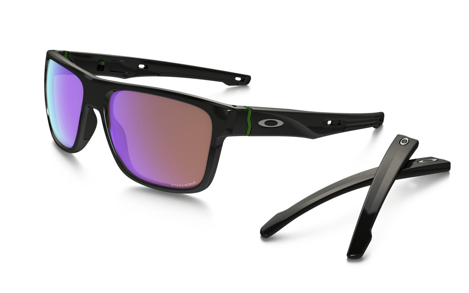 Oakley Crossrange - Polished Black / Prizm Golf - OO9361-0457 Zonnebril