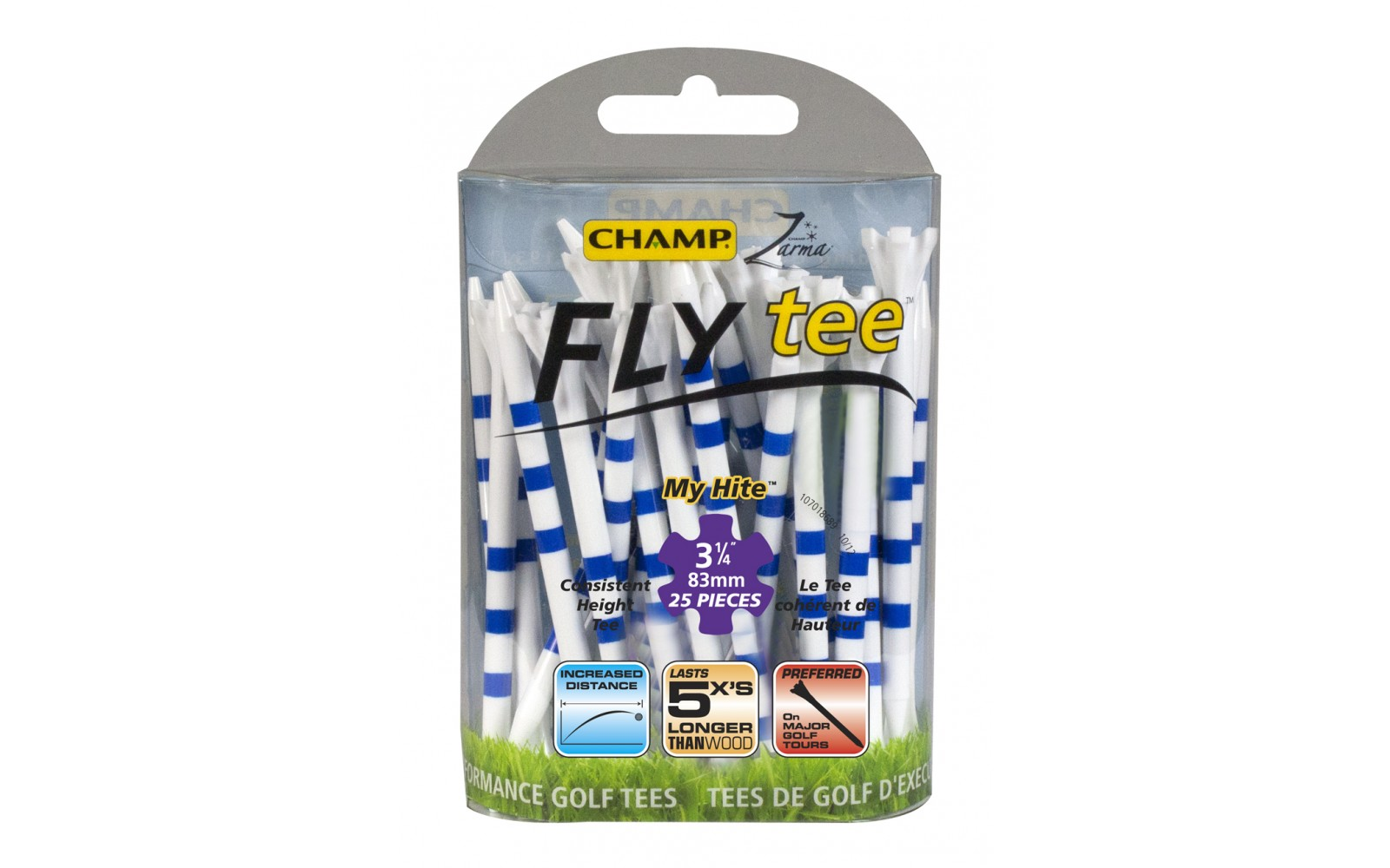 """Champ Fly Tees """"My Hite"""" 83mm"""
