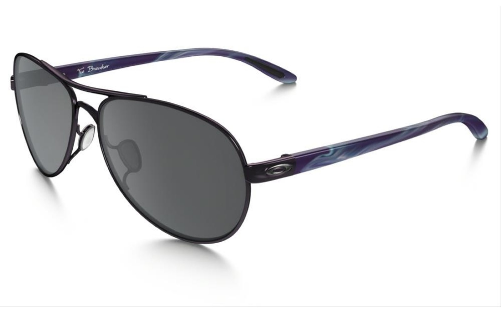 Oakley Tie Breaker - Polished Blackberry / Black Iridium - OO4108-05 Zonnebril