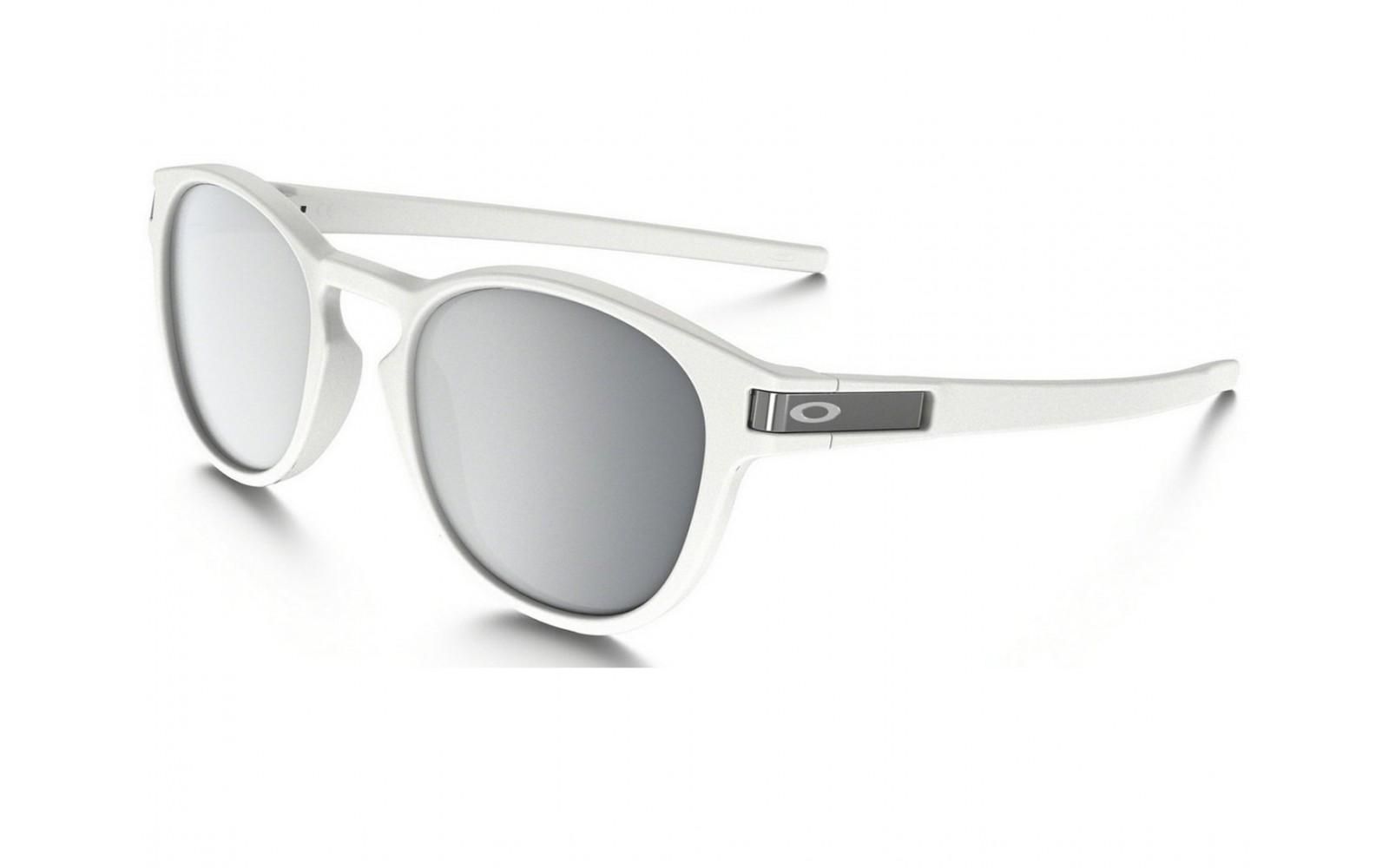 Oakley Latch - Matte White / Chrome Iridium - OO9265-16 Zonnebril