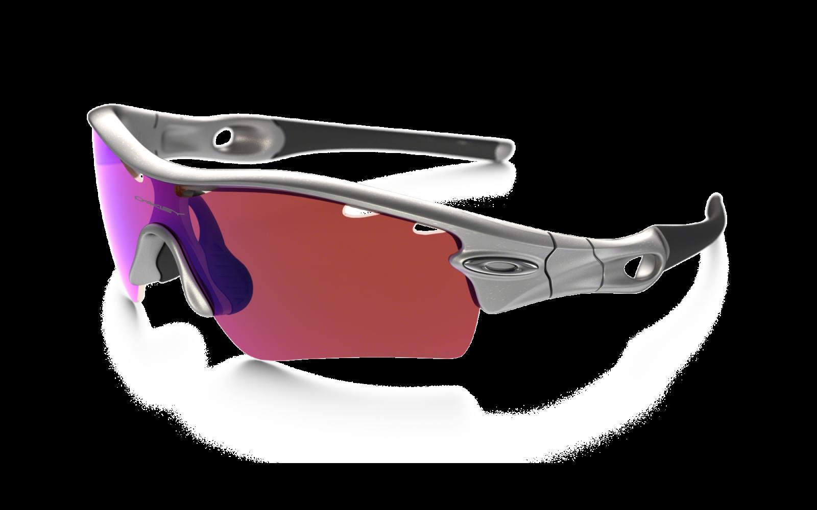 Oakley Radarlock Pitch - Silver / G30 Iridium Vented