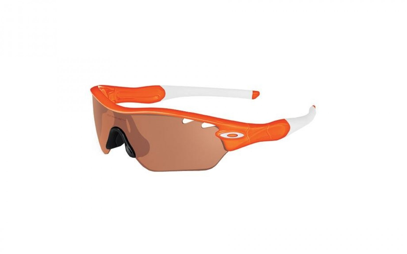 Oakley Radar Edge - Orange Flare / VR28 Black Iridium - OO9184-08 Zonnebril