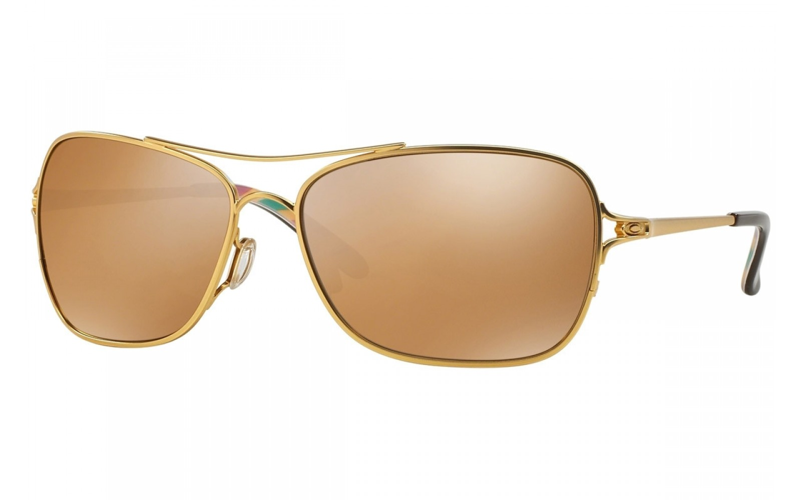 Oakley Conquest - Satin Gold/Iris / Tungsten Iridium - OO4101-03 Zonnebril