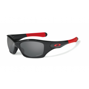 Oakley Ducati Pit Bull - Polished Black / Black Iridium Polarized - OO9127-15 Zonnebril