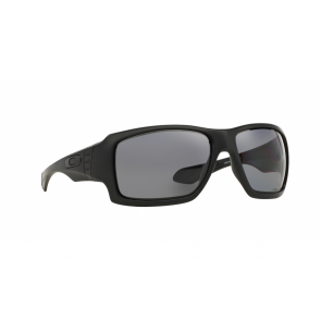 Oakley Big Taco - Matte Black / Grey Polarized - OO9173-04 Zonnebril