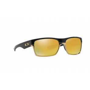 Oakley TwoFace - Polished Black / 24k Iridium Polarized - OO9189-18 Zonnebril
