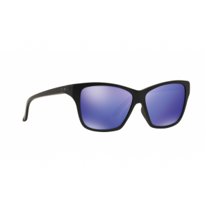 Oakley Hold On - Matte Black / Violet Iridium - OO9298-08 Zonnebril