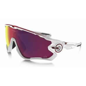 Oakley Tour de France Edition Jawbreaker - Polished White / Prizm Road - OO9290-18 Zonnebril