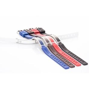 Hiptitan Minus Ionen Armband BH+ Style Plus Slim kleur : Rood