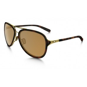 Oakley Kickback Satin Gold-Tortoise / Bronze Polarized - OO4102-02 Zonnebril