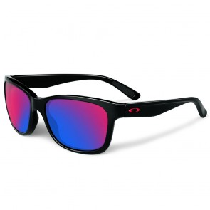Oakley Forehand - Polished Black / + Red Iridium - OO9179-27 Zonnebril