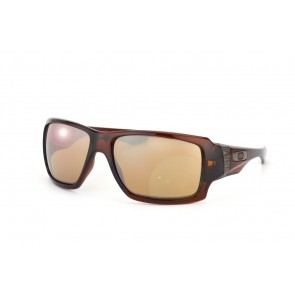Oakley Big Taco - Polished Rootbeer / Tungsten Iridium - OO9173-03 Zonnebril