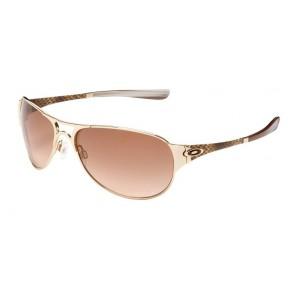 Oakley Gretchen Bleiler Restless - Polished Gold / VR50 Brown Gradient - 05-720 Zonnebril