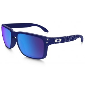 Oakley Holbrook B1B Collection - Matte Blue / Sapphire Iridium - OO9102-82 Zonnebril