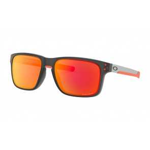 Oakley Holbrook Mix - Matte Grey / Prizm Ruby - OO9384-15