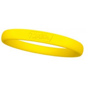 Hiptitan Minus Ionen Armband Basic Line Kleur : Geel Maat : M
