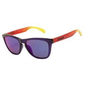 Oakley Frogskins (Asian Fit) Purple + Positive Red Iridium OO9245-16