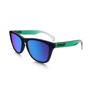 Oakley Frogskins Surf Collection - Surf Blue / Sapphire Iridium - OO9013-44 Zonnebril