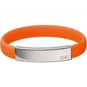 Hiptitan Minus Ionen Armband ClipLine Kleur : Oranje Maat : L