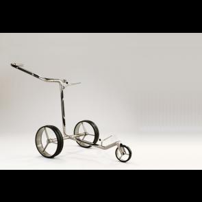 Jucad Carbon 3 wieler Zwart Zilver