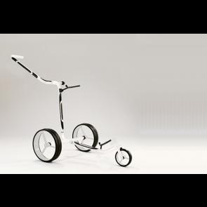 Jucad Carbon 3 wieler Zwart Wit