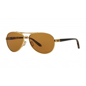 Oakley Tie Breaker - Satin Gold / Bronze Polarized - OO4108-03 Zonnebril