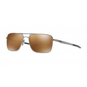 285f3a019924f6 Oakley Gauge 6 - Satin Chrome   Prizm Tungsten Polarized - OO6038-0557  Zonnebril