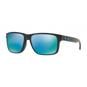 Oakley Holbrook - Polished Black / Prizm Deep Water Polarized - OO9102-C1 Zonnebril