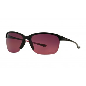 Oakley Unstoppable - Polished Black / Rose Gradient Polarized - OO9191-10 Zonnebril
